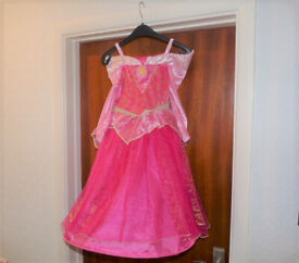 Girls DISNEY PRINCESS DRESS Pink Age 5-6
