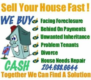 DEBT holding you down? Let us help WE BUY HOUSES Fast with CASH
