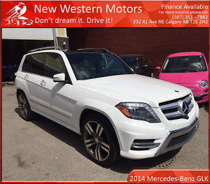 2014 Mercedes-Benz GLK350 4MATIC 1 YR WARRANTY! NO ACCIDENT!