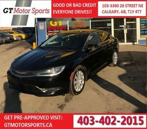 2015 Chrysler 200 LX   $0 DOWN - EVERYONE APPROVED!
