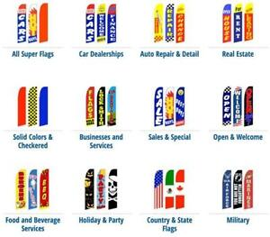 Advertising Super Flags by Flags & Sign Depot