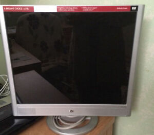 "HP Pavilion 19"" monitor."