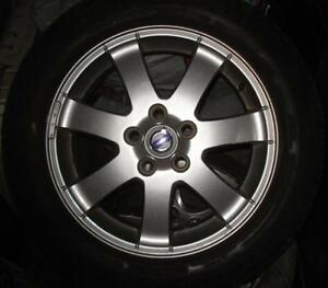 "OEM Volvo C30/more 16"" alloy wheels (x4) & Michelin MXV4 tire(3)"