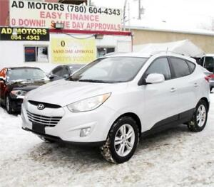 """NO ACCIDENT"" 2010 HYUNDAI TUCSON GLS 4X4 AWD LEATHER SPORT..!!"