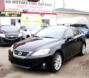 """NO ACCIDENT""  2012 LEXUS iS250 AWD SPORT PACKAGE S-ROOF LEATHER"