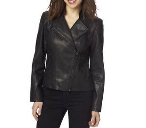 NEW Faux Leather Jacket - size medium or large