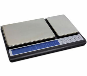 Digital Kitchen Scale. Dual Weight Platforms for Baking, Cooking