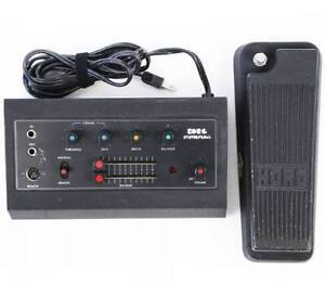 Rare Korg FK-1 Synth Pedal Analog Filter 1975 Recently Serviced