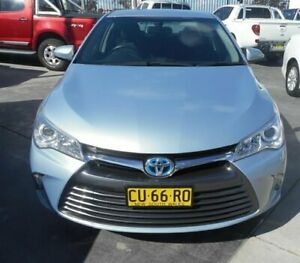2015 Toyota Camry AVV50R MY15 Altise Hybrid Blue Continuous Variable Sedan
