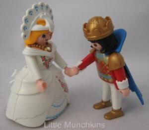 Playmobil Palace/Castle Royal family figures: Prince & Princess/Bride NEW