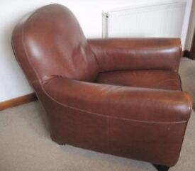 Armchair and footstool for sale £50 ONO