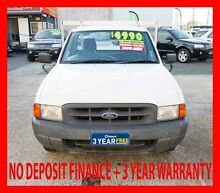 1999 Ford Courier PE GL White 5 Speed Manual Woodridge Logan Area Preview