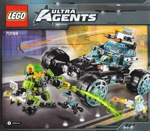 Lego Ultra Agents 70169 - Agent Stealth Patrol Sydney City Inner Sydney Preview