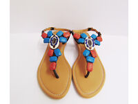 clay stone sandals