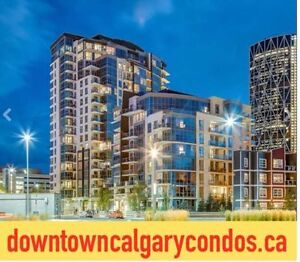 DOWNTOWN CALGARY   2 BED CONDOS from $180's