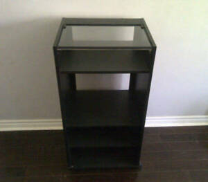 Sturdy 4 Shelving Unit With Wheels