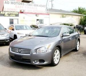 2014 Nissan Maxima LEATHER SUNROOF BACK-CAM 100% FINANCING!