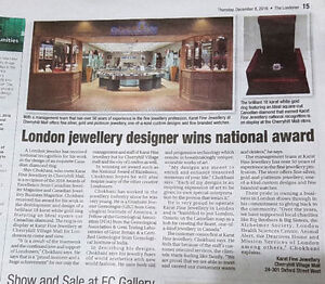 IT IS TIME TO UPDATE YOUR APPRAISAL? KARAT FINE JEWELLERY London Ontario image 10
