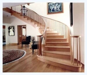 Lowest price! Solid wood stair treads with risers only $23.00!