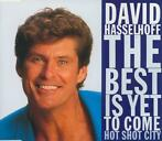cd single - David Hasselhoff - The Best Is Yet To Come
