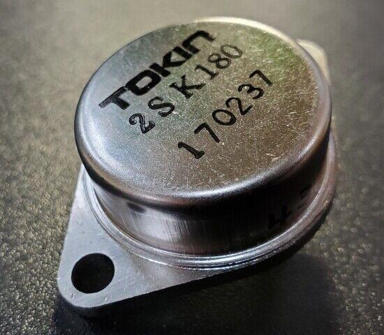 TOKIN SIT FET Power SIT Static Induction Transistor 2SK180 D mede in Japan FK083