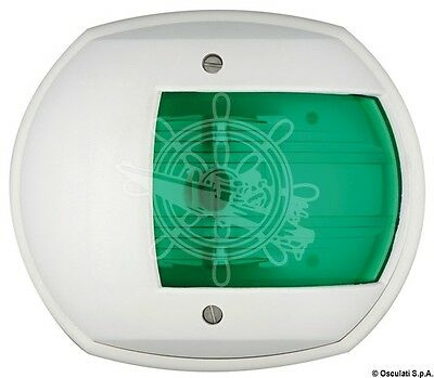 Osculati Maxi 20 White ABS Body 112.5 Degrees Right Green Navigation Light 12V