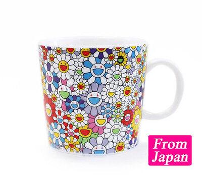 Takashi Murakami Flowers cafe mug Agay flower Yuzu Kaikai Kiki Art Goods Japan