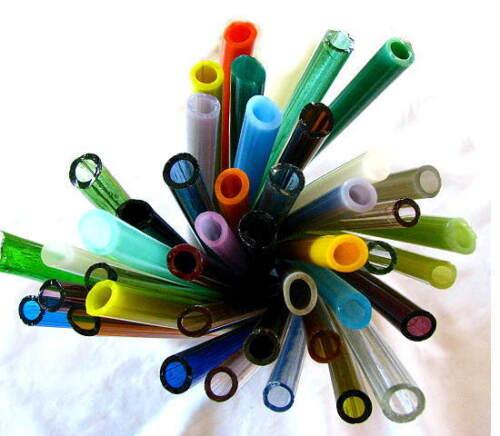 Devardi Glass Tubing COE 104 Soft Glass Lampwork 10 Assorted Tubes
