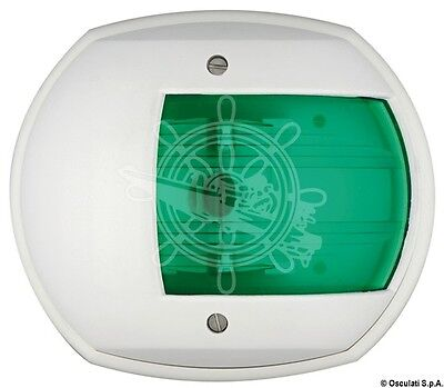 Osculati Maxi 20 White ABS Body 112.5 Degrees Right Green Navigation Light 24V