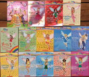 Collection of RAINBOW MAGIC fairy chapter books 14 for $15