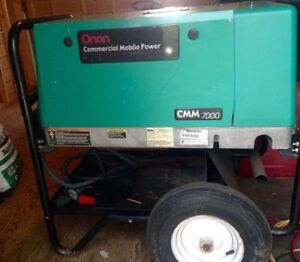 Onan Commercial Generator (Made by Cummins)