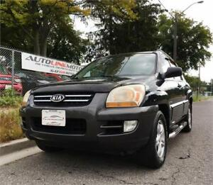 2005 KIA SPORTAGE LIMITED LEATHER LOADED AWD