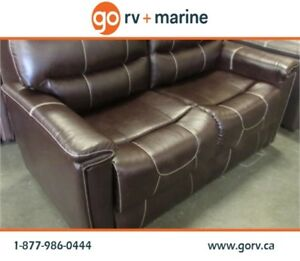"THOMAS PAYNE 67"" TRIFOLD SOFA JALECO CHOCOLATE"