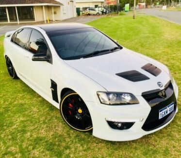 2011 Holden Special Vehicles Clubsport E3 R8 White 6 Speed Manual Sedan