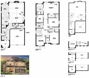 Detached House In Oakville Step to Lake 2Garage 2810sq $1,359000