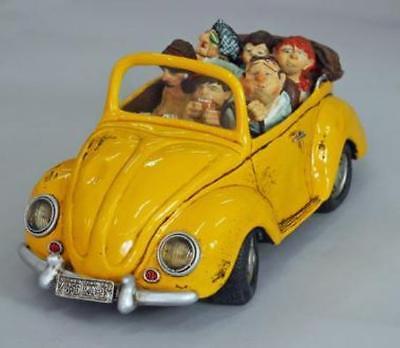 Rare NEW GUILLERMO FORCHINO Volkswagen Beetle Comic Art Serial No guarantee card