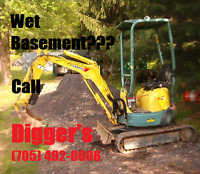 Diggers  Wet Basements and Foundation repair