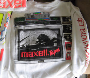 MAXELL TAPE AUDIO COLLECTORS SHIRTS Kitchener / Waterloo Kitchener Area image 4