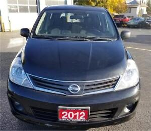 2012 Nissan Versa 1.8 S ACCIDENT FREE*SUN ROOF HEATED.S ALLOY