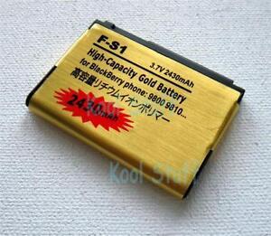 Gold F-S1 FS1 Battery 2430mAh for BlackBerry Torch 9800 9810