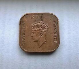 1941 malaya coin
