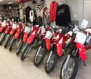 DEMO MODELS OFF ROAD BiKES VARIOUS SIZES