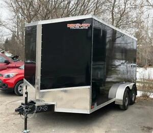 "2019 DISCOVERY PRO SERIES 7X14 WITH BARN DOORS AND 6'6"" INTERIOR"