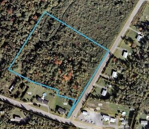 6 +/- Acres of Development land