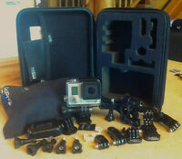 GoPro Hero3+ Black Edition with extras