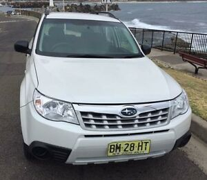 2011 Subaru Forester X/MY11 SHMCK3 White Sequential Auto S/W AWD North Wollongong Wollongong Area Preview