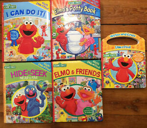 SESAME STREET Look and Find BOARD BOOKS $4 each or all 5/$15