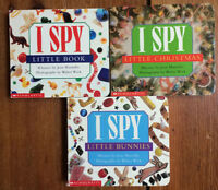 I SPY board books! 3 for $10