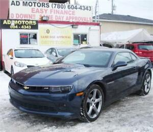 2014 CHEVROLET CAMARO RS SUNROOF REMOTE START BACK-CAM SPORTY