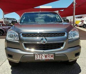 2013 Holden Colorado RG TURBO LX 4x2 Grey Automatic Dual Cab Mackay Mackay City Preview